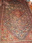 Fine Antique Khamseh Carpet, Nineteenth Century