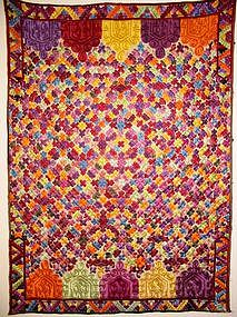 Moroccan Dowry Cloth, Rabat Embroidery.