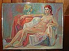 Anthony Toney, Nude, Oil Painting on Canvas