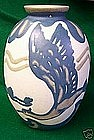 Large Villeroy and Boch Art Pottery Vase