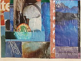 """Loran AD Montgomery, """"Poetry in Blue"""", 83"""