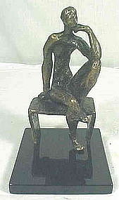 "Constance Freedman, ARBS, ""The Thinker"""