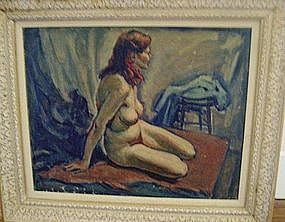 William Fisher, Nude with Red Hair