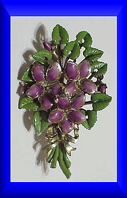 Exquisite Violet birthday brooch -March