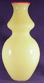 "Studio Paran Paladin vase 10"" tall(Signed )"
