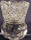 Early American pattern glass toothpick