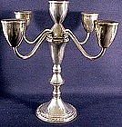 Duchin Creations  5-Light Sterling Candelabra