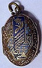 Victorian locket  ca 1880