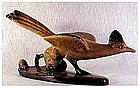 Roselane Roadrunner figurine (California Pottery)