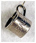 Sterling charm: baby cup