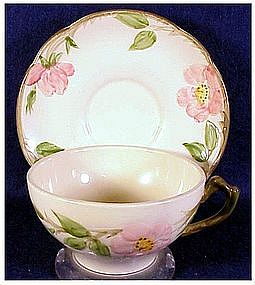 Franciscan Desert Rose (USA Back Stamp) cup & saucer