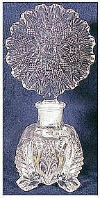 Czechoslovakia perfume bottle Irving W.Rice crystal