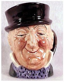 Royal Doulton Mr. Micawber character jug-A Mark 3 1/4