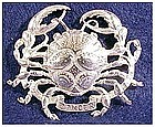 Cini sterling: Zodiac Cancer  Pin (June 22 - July 22)