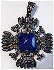 Larry Vrba Castlecliff Pre Columbian inspired pendant