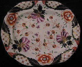 Davenport Stoneware Platter with Imari Pattern