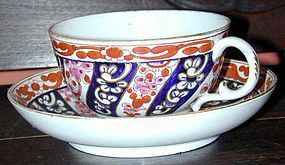 Worcester FLIGHT & BAR soft paste breakfast cup, C.1795