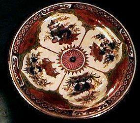 Chamberlain Worcester Bengal Tyger dessert, Ca 1800