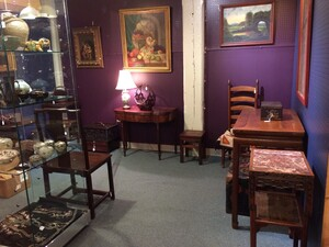 our space in the Antiques Center at Savage Mills
