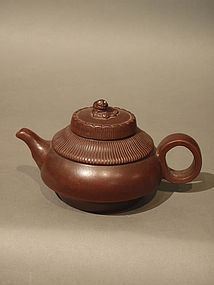 Yixing Teapot with Kylin Finial Xu Yufang