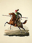 J. H. Clark Military Costume of Turkey Calvary