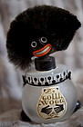 Ca 1919 Satin Glass Vigny France Black Golliwog Perfume