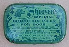 2 Great Glovers Veterinary Dog Condition Pills Tin