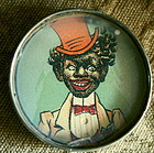 1920s Black Memorabilia Top Hat Dandy Dexterity Puzzle