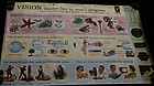 1956 DoubleSided Educational Eye Vision Chart New York
