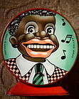 1940s Chad Valley Mechanical Bank BlackMan MovingTongue