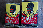 XRare1933 Sharpoint Nails Black Face Advertising Boston