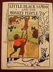1935 Platt&Munk 1st Ed. Book Little Black Sambo and The Monkey People