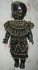Black Memorabilia African Mother Baby Dolls BEADS