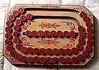 1886 Patent Wooden School ABC Alphabet Spelling Board