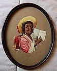 1930s Black Memorabilia Black Woman Diecut Advertising
