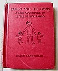 "1936 Helen Bannerman ""Little Black Sambo and the Twins"""