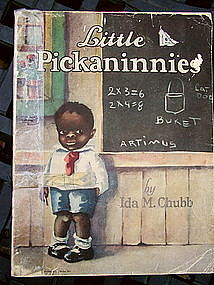 Rare 1929 Black Americana Little Pickaninnies Book Item