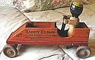 1930Happy Ham Vermont Black Wood Pull Toy Advertisement