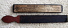 RARE 1863 Charles Emerson Barber Strap Charlestown MA