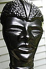 1950 Black African in SeaShell House Of Venice Planter