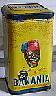 1930s French BANANIA Breakfast Chocolate Tin Blackamoor