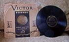 5 JIM CROW Black Memorabilia 78RPM Records w/ Jackets