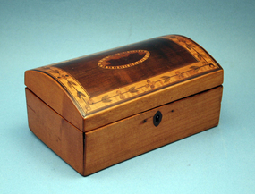 English Tunbridge Ware Dome Top Box