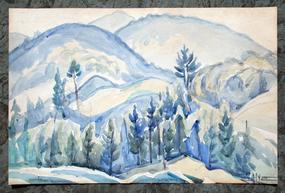 Landscapes by Edgar Nye (American, 1879-1943)
