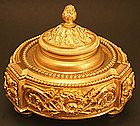French Ormolu Inkwell
