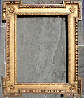 English Gilt Wood Mirror