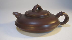 A Beautiful Late 20th C. Chinese Yixing Teapot Signed
