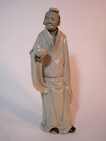 Late 19th C. Chinese Shiwan Mudman Marked