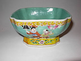 Chinese Early 19/20th C. Famille Rose Porcelain Bowl