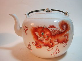 Late 19th C. Chinese Porcelain Teapot
